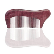 Natural Green's hand made wooden comb