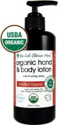 Herbal Choice Mari Organic Hand & Body Lotion Rose & Y/Ylang 200ml/ 6.8oz Pump