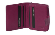 Saddler 10cm Quality Compact Leather Notecase Purse Wallet with 7 Credit Card Compartments Gift Boxed