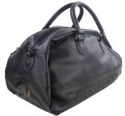 Black Tartan Grip Bag by Fred Perry