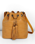 ImiLoa Women's Cross-Body Bag Brown braun, camel