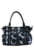 Banned Apparel Tartan/Checked Shoulder Cross Handbag