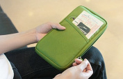 keampe Multi-Functional Fashion Ticket Passport Credit Card ID Document Travel Pouch Case Cover