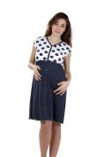 Premamy - Women's Maternity Nursing Nightdress - Colour