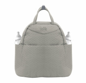 Tots by Smart Rike 100 202 Infinity Changing bag, Nappy Bag, Mommy Bag (38 x 18 x 38 cm beige Quilt