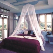 Vivo © White Mosquito Net Fly Insect Protection Single Entry Double King Size Canopy