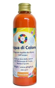 Colour Bath Orange Water -gives the right energy and enthusiasm to face the day - Chromotherapy bath - 100% organic preservative free - made with love by Ailight - 200 ml bottle