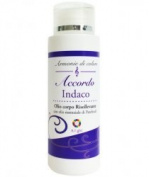 Accordo Indaco - Indigo energy body oil- Uplifting vibrational oil with Patchouli essential oil- 100% natural- made with love by Ailight- 125 ml bottle