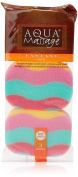 Arix-Aqua Massage Bath Sponge-Pack of 3