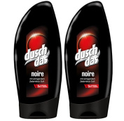 2x Duschdas shower gel & shampoo 2in1 Noire per 250ml