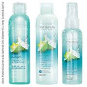 Set of 3 Naturals Escape Coconut and Starfruit, Shower Gel, Body Lotion and Spritz