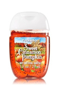 Bath & Body Works Sweet Cinnamon Pumpkin Scented Pocketbac Hand Gel 29ml