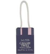 Jack Wills Fabulously British ~ Cavalry Twill ~ Gentlemen's Body Care ~Soap on A Rope ~ Pack of 2