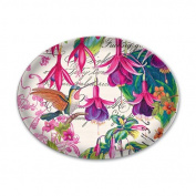 Fuchsia Glass Soap Dish from FND Promotion by Michel Design Works