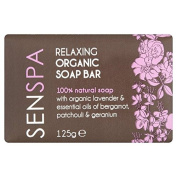 SenSpa Relaxing Organic Soap Bar 125g