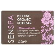 SenSpa Relaxing Organic Soap Bar 125g