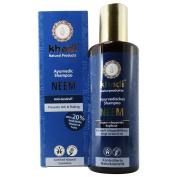 KHADI - Herbal Neem Anti-Dandruff Shampoo - Cleanses & Conditions Hair & Scalp - Reduces flaking & itching