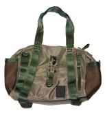 George Gina & Lucy Nylon MESH Ohone Handbag olive-green