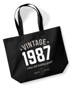 30th Birthday, 1986 Keepsake, Funny Gift, Gifts For Women, Novelty Gift, Ladies Gifts, Female Birthday Gift, Looking Good Gift, Ladies, Shopping Bag, Present, Tote Bag, Gift Idea