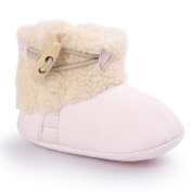 Switchali New Baby Keep Warm Soft Sole Snow Boots Soft Crib Shoes Toddler Boots