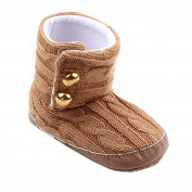 Saingace® Baby Toddler Infant Girl Snow Boots Soft Sole prewalker Crib Shoes
