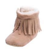 Saingace® Baby Toddler Infant Snow Boots Soft Sole Prewalker Crib Shoes