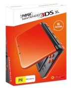 Nintendo New 3DS XL Console Orange and Black