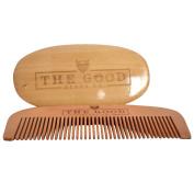 The Good Beard Co. Beard brush and comb grooming kit