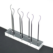 LashArt SLEEK Eyelash Fitters Testers Try on Wands Display Clear Acrylic Stand