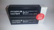 "Salon System ""LashTint"" Duo Pack - Black"