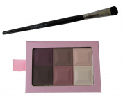 Laura Geller 6 Shade Eye Shadow Palette in Mocha and Brush