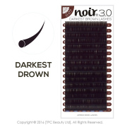 Noir Volume Lashes 0.07mm Darkest Brown Natural Lashes Professional Mink Individual Eyelash Extension Tray C Curl Mixed Lengths Single Lengths Volume eyelashes / Russian Lashes Extension 3D 5D 7D XD semi permanent