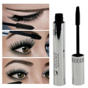 Internet Eye Lashes Makeup Waterproof Long Eyelash Black Silicone Brush Head Mascara