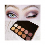 10 Colours Eyeshadow Palette Matt Natural Eyeshadow