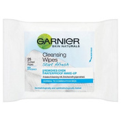 Garnier Start Afresh Wipes 25 per pack