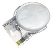 QVS 3 Bathroom Double Sided Magnification Mirror - 1 Mirror