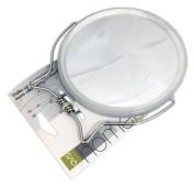 QVS 3 Bathroom Double Sided Magnification Mirror - 1 Mirror