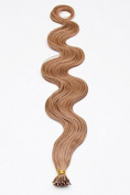 25 Remy Hair Micro Loop Human Hair Extensions I-tip Style 60 cm - Available in a Range of Colours and Free Accessories.