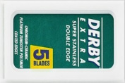 5 Dèrby Extra blades (1 pack) + 1 Free Silver Star bIade