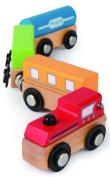 Hape E0913 Qubes - Magnetic Classic Train Toy
