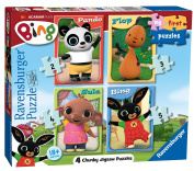 Ravensburger My First Puzzle, Bing Bunny (2, 3, 4 & 5pc) Jigsaw Puzzles