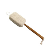 MLM®Wooden Shower Body Brush ,Perfect for Dry Skin Brushing, Shower and Bath, an Essential for Cellulite Reduction, Skin Exfoliation