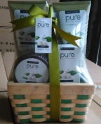 Green Tea Spa Basket