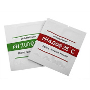 BephaMart 2Bags PH4.00 PH7.00 Buffer Powder For PH Test Metre Measure Calibration Solution