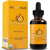 Just Argan Oil - Nature's Pure Organic Moroccan Moisturiser For Her Hair Skin Face Nails and Body Health