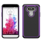 Voberry® High Quality Heavy Duty Dual Layer Armour Protective Case for LG G5 Smartphone