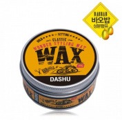 Dashu Classic Wonder Styling Matt Hair Wax for Damaged Hair 100g(100ml)+latex Glove