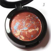 Fheaven Focallure 10 Colours Noble Metal Diamond Pearl Eye Shadow Makeup Palette Roast