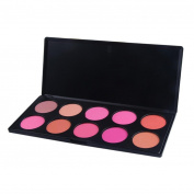 Fheaven Pro 10 Colour Neutral Warm Eyeshadow Palette Eye Shadow Makeup Cosmetics