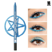 [16BRAND] Sixteen Pencil Liner 0.5g - No Smudging Waterproof Eyeliner